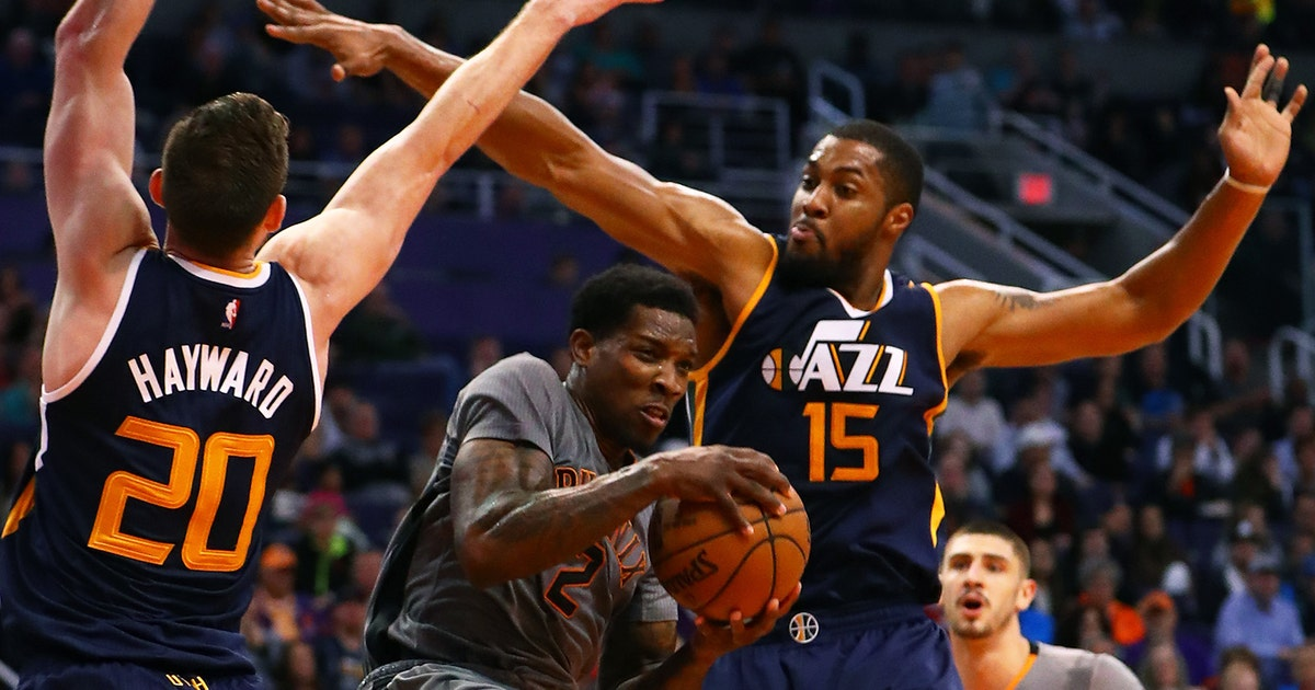 Jazz Score Final Seven Points To Upend Suns Fox Sports