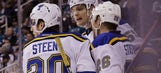 Parayko says new defensive partner Pietrangelo is 'kind of an icon'
