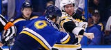 No love lost: Bruins beat Blues 5-3 in Backes' return to St. Louis