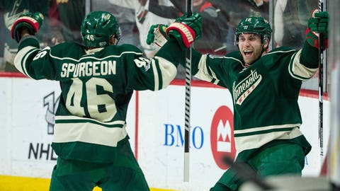 Can the Wild's secondary scoring keep up?