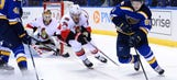 Blues welcome the hot (but just reality-checked) Capitals to STL