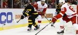 Vanek, Nielsen push Red Wings past Bruins in 6-5 SO win
