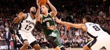 Beasley leads Bucks to 109-107 road win over Spurs