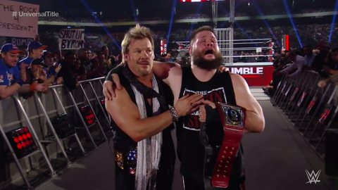 Kevin Owens defeated Roman Reigns to retain the Universal Championship