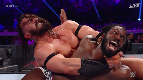 Neville defeats Rich Swann by submission to become the new Cruiserweight Champion