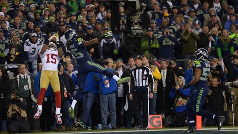 Seattle Seahawks -- Crabtree (2013 NFC championship)