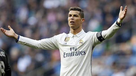 Cristiano Ronaldo (Real Madrid 2-1 Sporting CP) group stage, Sept. 14, 2016