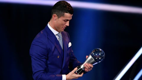 The Best FIFA Men's Player Award: Cristiano Ronaldo
