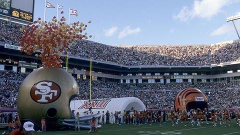 Super Bowl XXIII (Miami): 49ers 20, Bengals 16