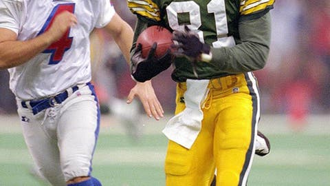 Super Bowl XXXI (New Orleans): Packers 35, Patriots 21