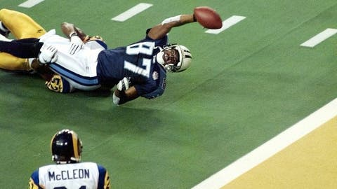 Super Bowl XXXIV (Atlanta): Rams 23, Titans 16