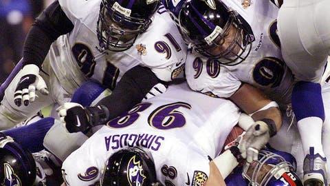 Super Bowl XXXV (Tampa): Ravens 34, Giants 7