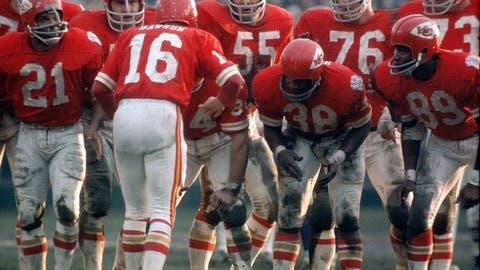 Super Bowl IV (New Orleans): Chiefs 23, Vikings 7