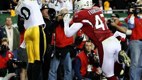 Super Bowl XLIII (Tampa): Steelers 27, Cardinals 23