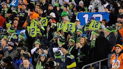 Super Bowl XLVIII (East Rutherford): Seahawks 43, Broncos 8
