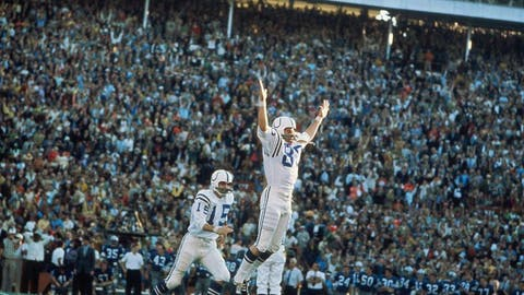 Super Bowl V (Miami): Colts 16, Cowboys 13