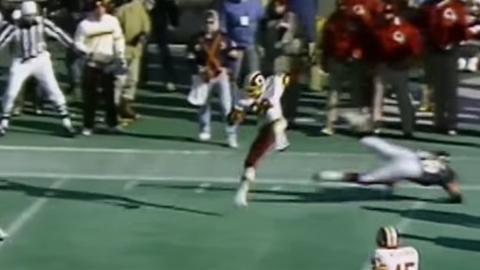 Chicago Bears -- Darrell Green (1987 divisional playoffs vs. Redskins)