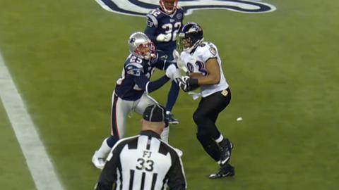 Baltimore Ravens -- The Drop (2011 AFC championship at Patriots)