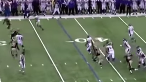 2009 NFC Championship game: Saints 31, Vikings 28 (OT)
