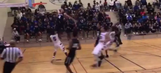 High school sophomore destroys opponent with otherworldly dunk
