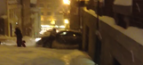 Here's why you shouldn't ride your snowboard through an intersection