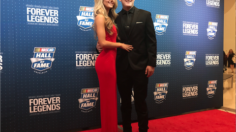 Ty Dillon and wife, Haley