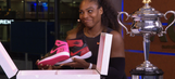 Nike gave Serena Williams a customized pair of Jordans to celebrate her 23rd Grand Slam