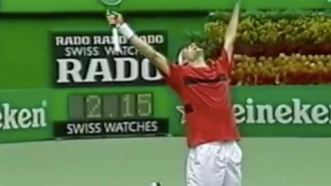 2004 Australian Open (d. Marat Safin in 3)