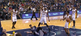 Pelicans' Anthony Davis leaves after scary fall
