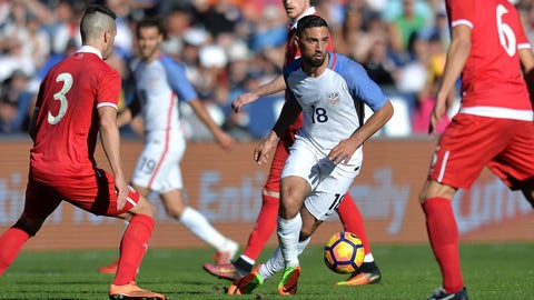 Sebastian Lletget is a viable starter for the next World Cup qualifier