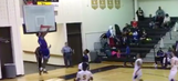 HS basketball player's backboard-shattering dunk causes game to end early