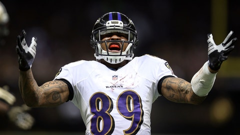 Targets are up for grabs with Steve Smith and Dennis Pitta gone