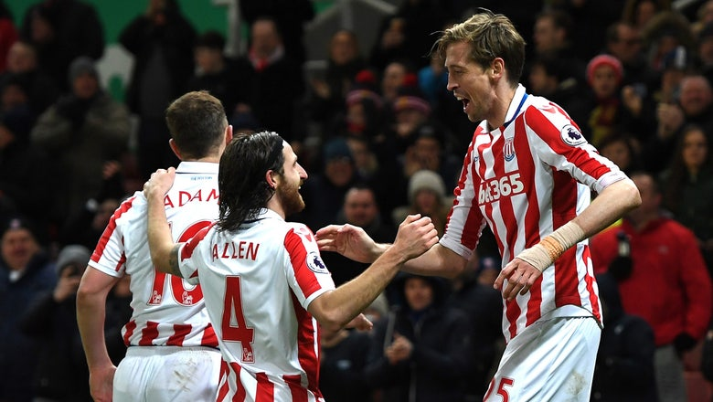 Stoke City improves mid-table position with win over Watford