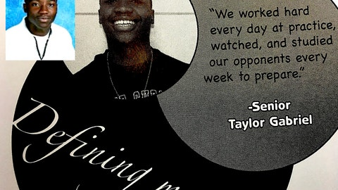 Taylor Gabriel, WR, Atlanta Falcons