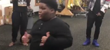 Terio is still alive and dancing in the Steelers locker room