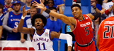 Texas Tech unable to keep up with No. 3 Kansas