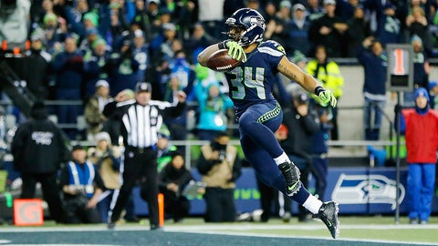 Thomas Rawls is in at running back