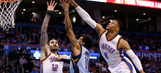 Westbrook's 18th triple-double leads Thunder past Grizzlies