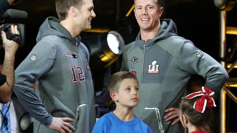 Tom Brady, Matt Ryan