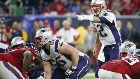 AFC: No. 1 New England Patriots vs. No. 4 Houston Texans