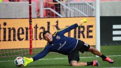 GK: Nick Rimando