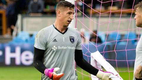 GK: David Bingham (San Jose Earthquakes)