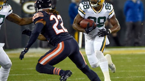 Week 7: Ty Montgomery bursts through the Bears for 30 yards