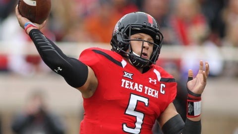 Patrick Mahomes, Texas Tech