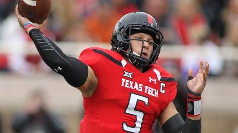 QB Patrick Mahomes, Texas Tech