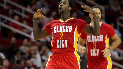 "GOOD: Houston Rockets ""Clutch City"" Alternates"