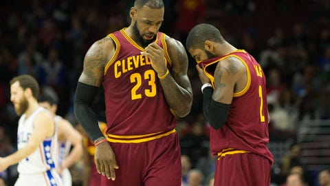 The Cavaliers lack depth
