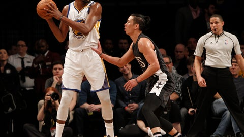 Force Kevin Durant to regress to his OKC self