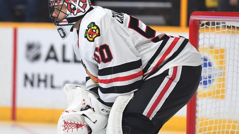 Corey Crawford, G, Blackhawks