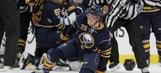 Watch line brawl erupt after Sabres defenseman levels Winnipeg's Patrik Laine